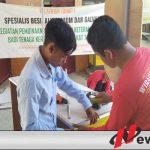 Puluhan Pemuda Di Sumenep Ikuti Pelatihan Las Galvalum Di ETDC