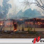 SMA YBI 4 Kayuagung Terbakar