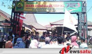 Aktivis Kepulauan Demo Ke Kantor Dispendukcapil Sumenep