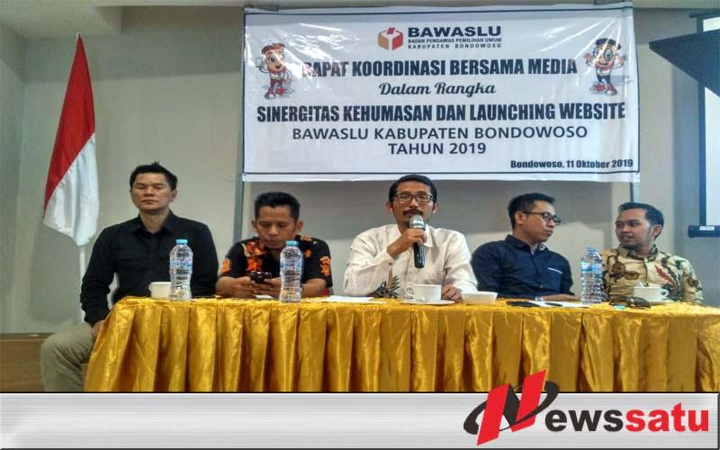 Bawaslu Bondowoso Jalin Sinergiritas Dengan Media