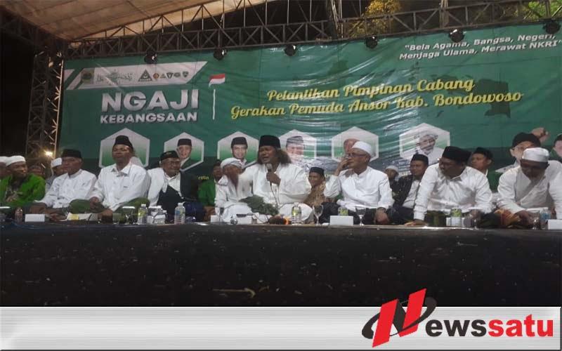 Bupati Bondowoso, Ansor Harus Memperkokoh Ukhuwah Wathaniyah
