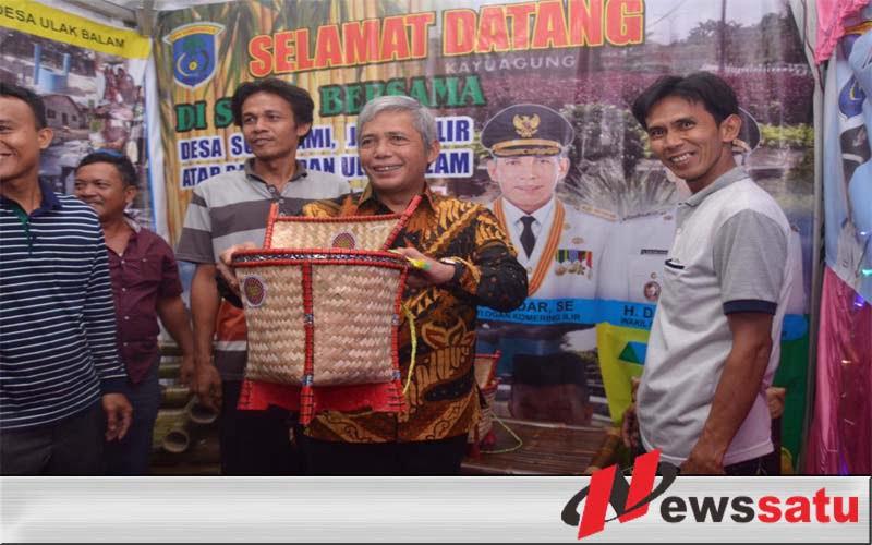 Dorong Ekonomi Desa, Pemkab OKI Gelar Expo Produk BUMDes