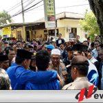Usut Tuntas Meninggalnya Randy, Demo Aktivis PMII Di Polres Sumenep Ricuh