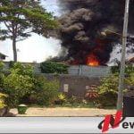 Warga Probolinggo Dibuat Panik Dengan Adanya Kebakaran Di Parkiran Truk