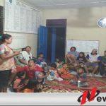 Dampak Karhutla, Warga Kedaton Dievakuasi ke Kantor Camat Kayuagung