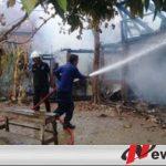 Gara-gara Obat Nyamuk, Rumah Panggung Di Ogan Komering Ilir Ludes Terbakar
