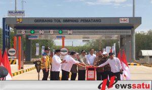 Jokowi Resmikan Tol Terpeka