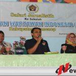 PWI Sumenep Berbagi Ilmu Jurnalistik Dengan Siswa SMA Negeri 1 Batuan