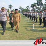 Polres Ogan Komering Ilir Terjunkan Ratusan Dalam Pengamanan Pilkades Serentak