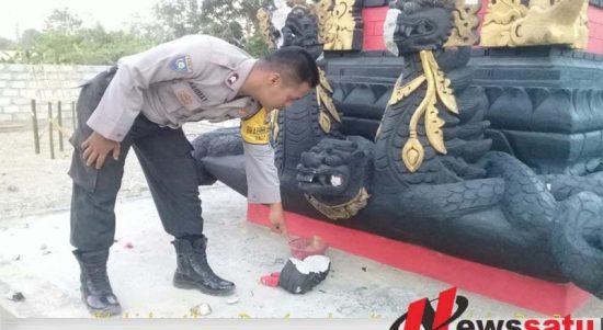 Rusak Patung Hindu, Seorang Pemuda Ditangkap Polres Pulau Buru