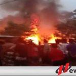 Satu Unit Rumah Dan Pertamini Di Desa Tanjung Alai Ludes Dilahab Sijago Merah