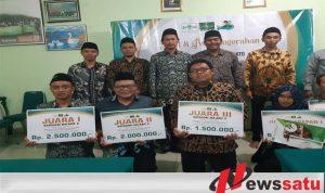 Angkat Tema Nilai Sembilan Gus Dur, Kepala SMK NU Bondowoso Juara II LKTI Nasional