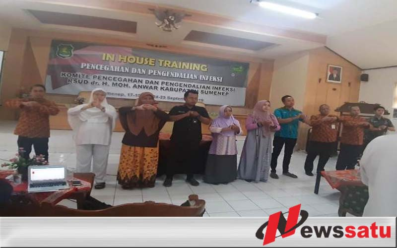 Cegah Infeksi, RSUD Moh Anwar Sumenep Gelar In House Training
