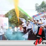 Color Fun Walk Warnai Pesta Rakyat Di Kota Malang