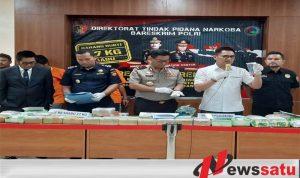 Polisi Berhasil Gagalkan Penyelundupan 37 Kilogram Narkoba