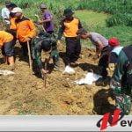 Pasca Tanah Longsor, Kodim Pamekasan Siagakan 1 SST Pasukan