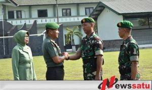 Satgas Teritorial Kodam Brawijaya Diberangkatkan Ke Papua