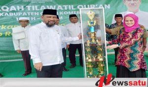 Lempuing Jaya Juara Umum MTQ ke-29 Kabupaten OKI