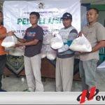 PWI Bondowoso Salurkan Puluhan Paket Sembako Ke Korban Banjir