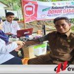 Wakil Ketua Komisi II DPRD Bondowoso Ikuti Donor Darah Di HPN Dan HUT PWI Ke 74