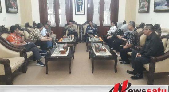 Bupati Bondowoso Bersama PT GGP Akan Melakukan Tindak Lanjuti Penanaman Pisang Cavandis
