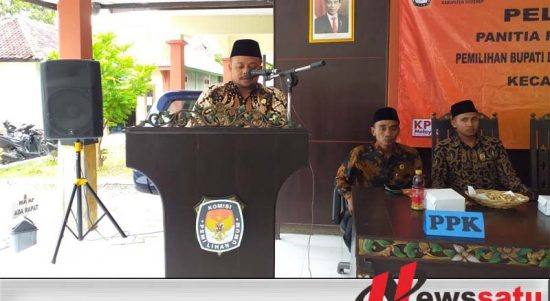 Covid-19- KPU Sumenep Tunda Tahapan Pilbup 2020