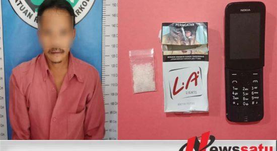Jadi Kurir Sabu, Pria Ini Ditangkap Satreskoba Polres Sumenep