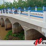 Jembatan Baru, Begini Cara Warga Lempuing Jaya OKI Menysukurinya