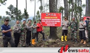 TNI Polri Tinjau Reboisasi Gunung Suket