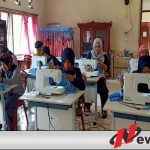 BLK Dan Karangtaruna OKI Produksi Ribuan Masker untuk Dibagi Secara Gratis