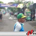 Covid 19 BKM Abdi Mulya Kota Probolinggo Lakukan Penyemprotan Disinfektan
