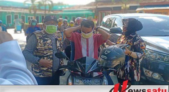 Covid-19, FKPPI Bagi-Bagi Masker Kepada Masyarakat Sumenep