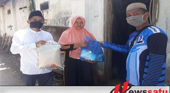 Jelang Ramadhan Genggong MA Zainul Hasan Probolinggo Bagi Sembako dan Masker