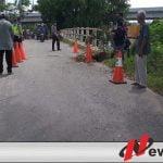 Jembatan Penghubung antar Kelurahan Dan Desa Di OKI Amblas