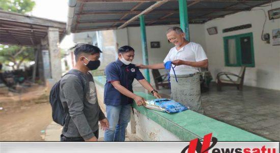 PWI Sumenep Bersama Badan Intelijen Negara Bagi 2 Ribu Masker