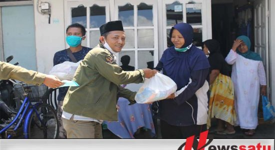 Wartawan Sumenep Berbagi Sembako