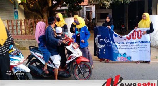 1000 Takjil Dari KOPRI PMII STKIP PGRI Sumenep Untuk Masyarakat Sumenep