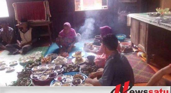 'Bekunci' Cara Warga Jermun Ogan Komering Ilir Lockdown Dari Pandemi Covid-19
