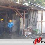 Gudang Kayu Gaharu Terbakar Di Kota Probolinggo
