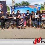 Komunitas Vespa di Pakisan Bondowoso Bagi-bagi Ratusan Paket Sembako