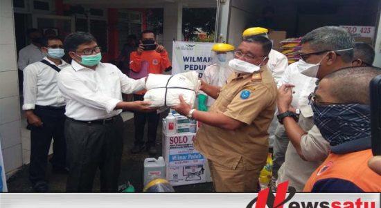 PT Wilmar Nabati Indonesia Bantu Pemkab OKI Atasi Covid-19