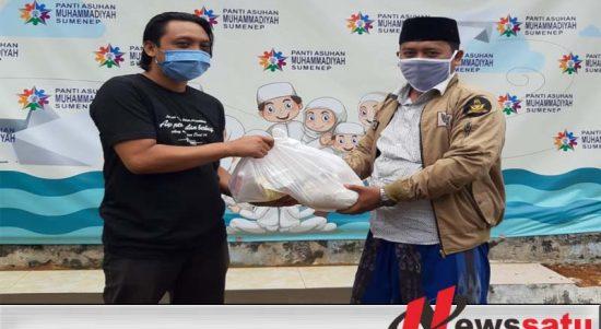 PWI Sumenep Bagikan 250 Paket Sembako
