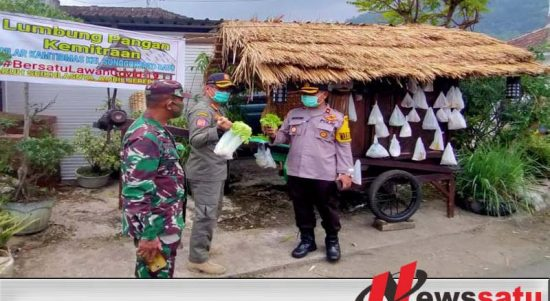 Polres Batu Kerahkan 645 Personil Dalam Pengamanan PSBB