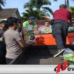 Polres Batu Salurkan Bansos Bagi Warga Terdampak Covid-19