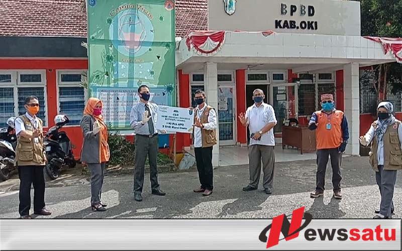 Sekretariat Gugas Covid-19 Terima Bantuan CSR Dari Bank Mandiri Syariah