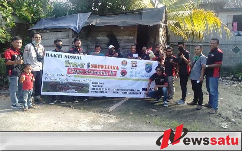 Timor Er Sriwijaya OKI Serahkan 50 Paket Sembako