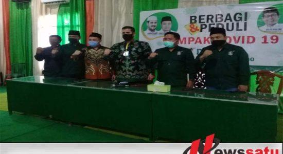 Walikota Dan Anggota DPRD Dari PKB Sumbangkan Gajinya Untuk Penanganan Covid-19