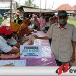 BLT-DD Tahap 1 Desa Pampangan Sebanyak 30 Persen Dari Alokasi Dana Desa