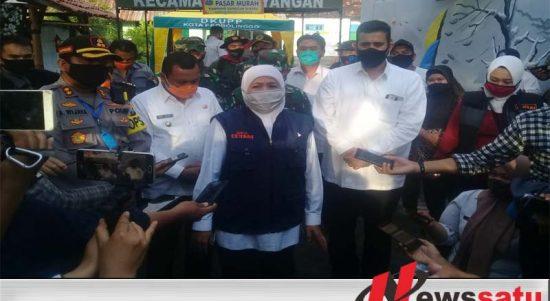 Gubernur Jatim Kunjungi Kampung Tangguh Covid-19 Di Kota Probolinggo