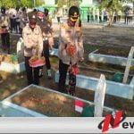 HUT Bhayangkara ke-74, Kapolres OKI Zaiarah Ke Taman Makam Pahlawan Kesuma Negara